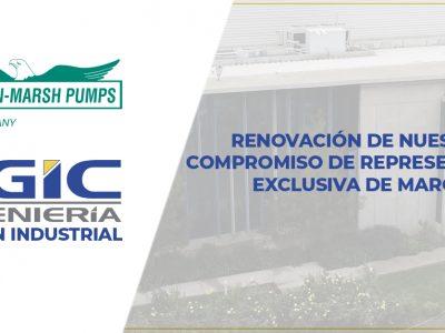 Renovación acuerdo PGIC Ingeniería – American Marsh