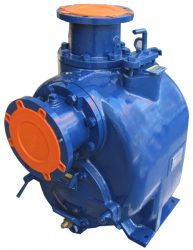 SELF-PRIMING CENTRIFUGAL PUMP WITH BEARING BODY SPU-6